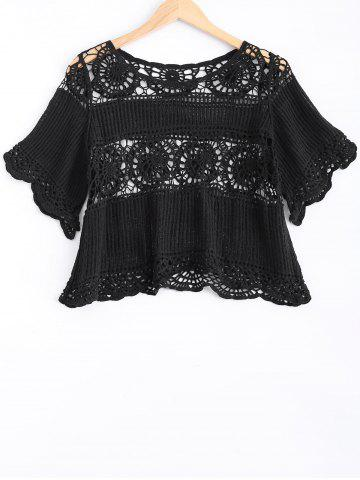 Best Lace Crochet See-Through Blouse