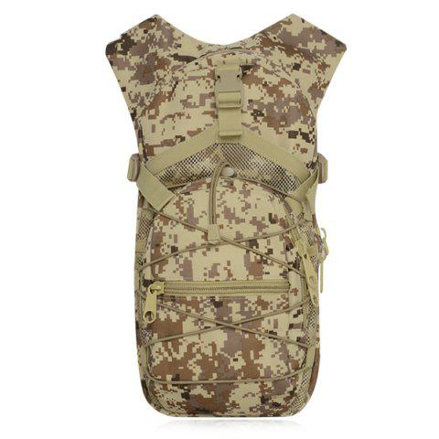 Chic Camouflage Print Mesh Splicing Backpack - MARPAT DESERT  Mobile