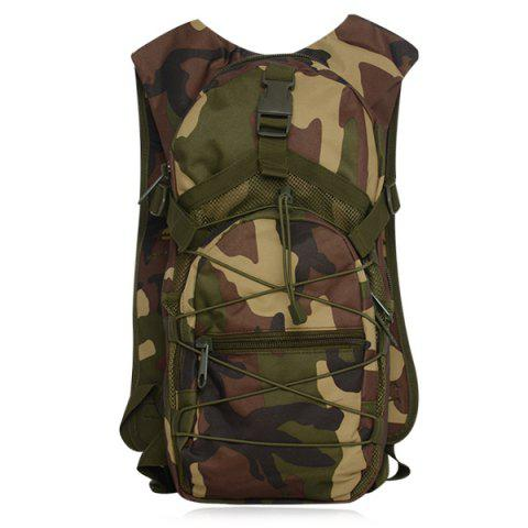 Discount Camouflage Print Mesh Splicing Backpack - CAMOUFLAGE  Mobile