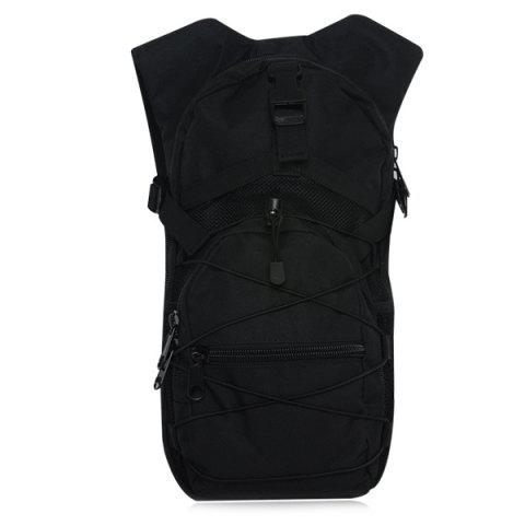 Mesh Spliced ​​Elastic Band Backpack