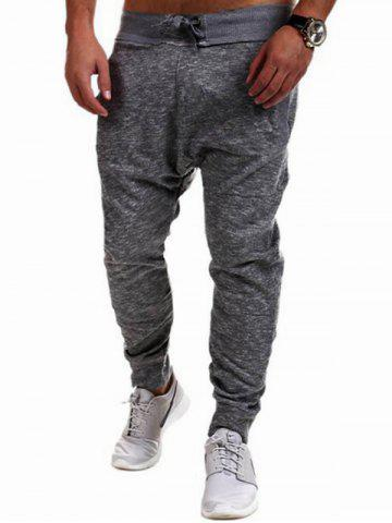 Buy Contrast Waistband Drop Crotch Joggers
