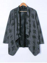 Ripped Loose Cardigan -