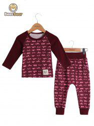 Car Print Homewear Nightwear Sleepwear Pyjamas Sets -