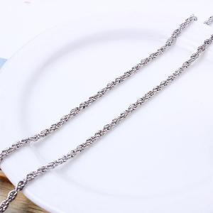Rhinestone Guitar Sweater Chain -
