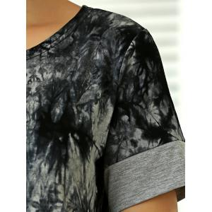 Tie-Dyed Short Sleeve T-Shirt -