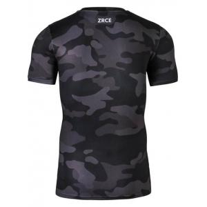 3D Animal Printed Slim-Fit Camo T-Shirt -