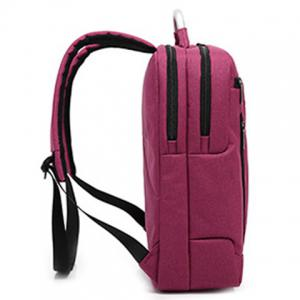 Stitching Nylon Laptop Backpack -
