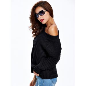 Long Sleeve Ribbed Sweater -
