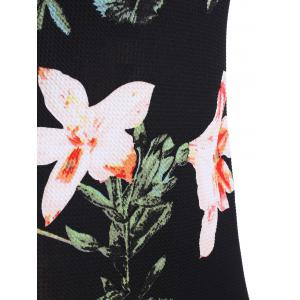 Floral Print Fitted Dress -