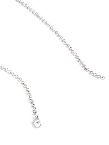 Store Alloy Engraved Coins Geometric Body Chain - SILVER  Mobile