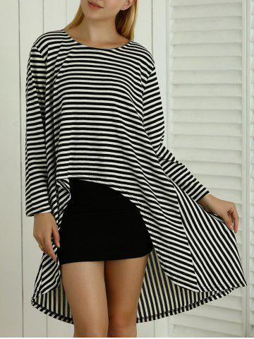 New Skinny Tank Dress + Asymmetrical Striped Loose-Fitting Dress Twinset