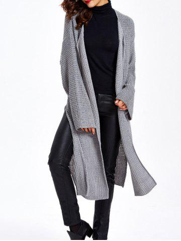 Fancy Long Sleeve Loose Cardigan