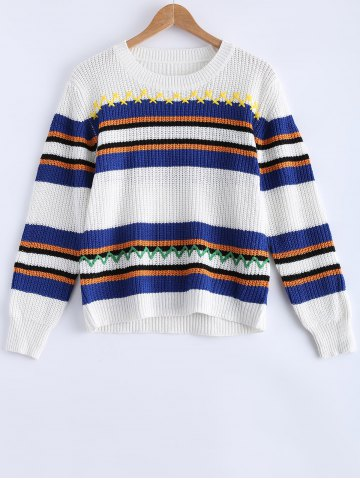 Shop Striped Pullover Sweater