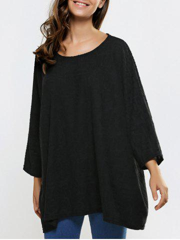 Outfits Jacquard Textured Loose-Fitting Knitwear