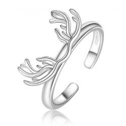 Antler Alloy Cuff Ring -