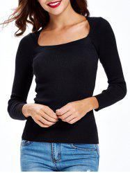 Ruched Pullover Knitwear -