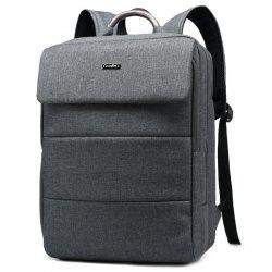 Metallic Letter Nylon 15 Inch Laptop Backpack