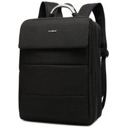 Metallic Lettre Nylon 15 Inch Laptop Backpack -