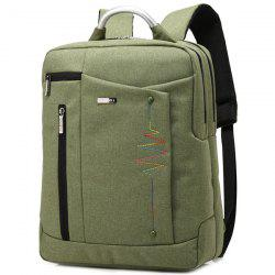 Broder Nylon Laptop Backpack - Vert Armu00e9e