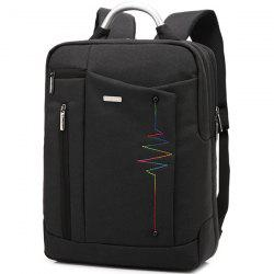 Stitching Nylon Laptop Backpack