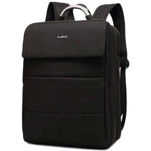 Metallic Lettre Nylon 15 Inch Laptop Backpack