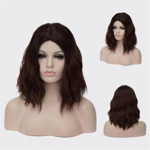 Medium Centre Parting Wavy Synthetic Wig