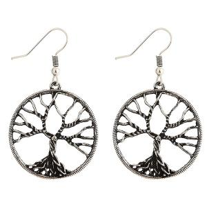 Pair of Tree of Wisdom Earrings