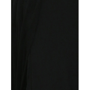 Off Shoulder Evening High Slit Party Maxi Dress - BLACK S