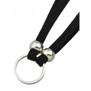 Punk Style Faux Leather Round Choker -