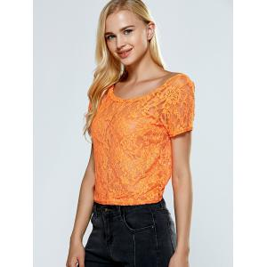 Backless Bowknot Lace Top -