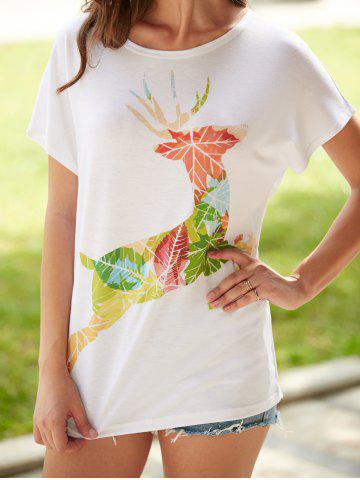 Outfits Fawn Printed Short Sleeve T-Shirt