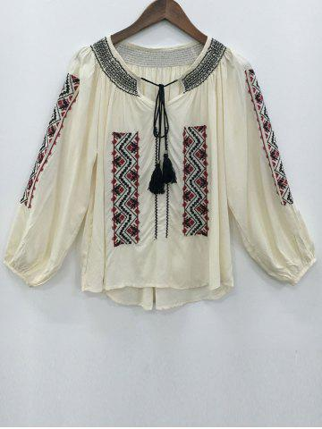 Online Ethnic Style Embroidery Blouse