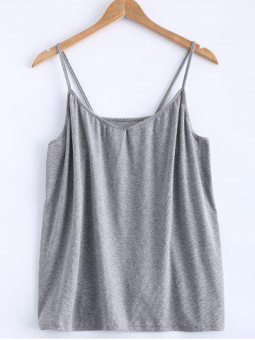 Shop Open Back Stretchy Ribbed Tank Top