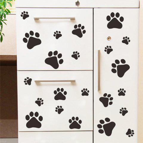 Fancy Multifunctional Dog or Cat Claw Imprint Room Wall Sticker