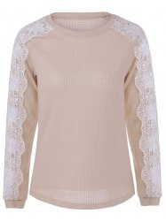 Lace Patchwork Sweater -