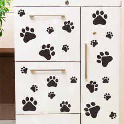 Multifunctional Dog or Cat Claw Imprint Room Wall Sticker -
