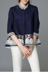 Beading Embroidered Blouse