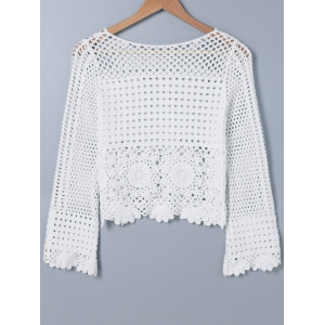 Crochet Hollow Out Knitwear -