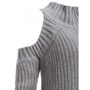 Ribbed Hollow Out Sweater -