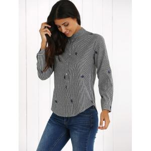 Long Sleeve Striped Shirt -