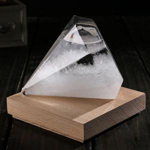 Creative Storm Glass Weather Forecast Bottle -