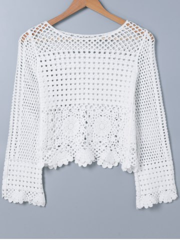 Outfits Crochet Hollow Out Knitwear