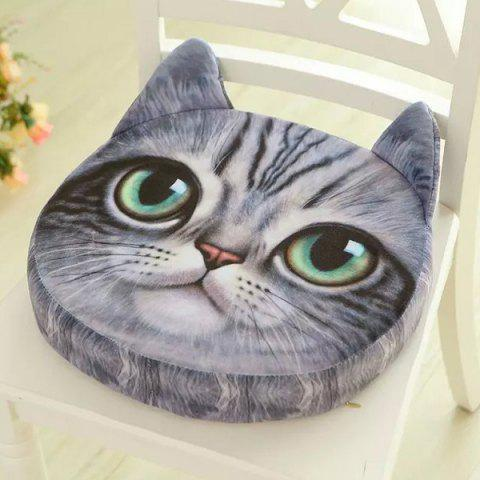 New 3D Short Plush Sponge Padding Nekolus Shape Sofa Cushion