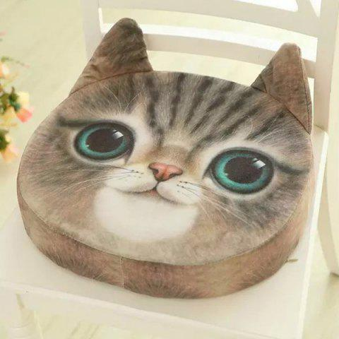Buy Removable 3D Sponge Padding Cat Shape Cartoon Sofa Cushion