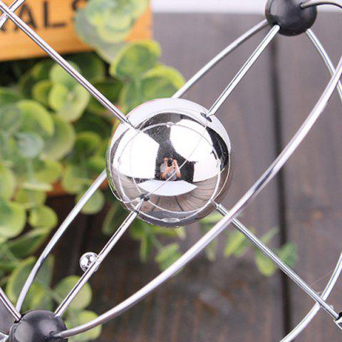 Buy Desk Toy Planet Kinetic Mobile Electronic Perpetual Motion - SILVER  Mobile