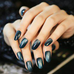 24 PCS Cat Eye Pattern Nail Art False Nails -
