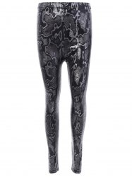 Elastic Snake Ninth Pants