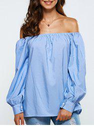 Loose Striped Blouse -