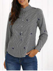 Long Sleeve Striped Shirt