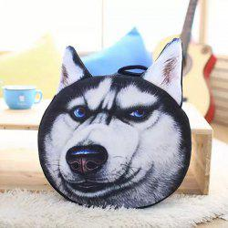 Detachable Husky Shape Soft Plush Sponge Padding Sofa Cushion